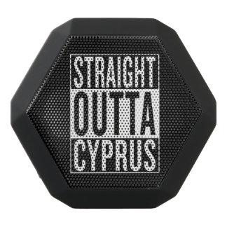 straight outta Cyprus Black Bluetooth Speaker