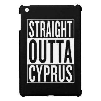 straight outta Cyprus Cover For The iPad Mini