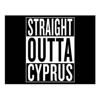 straight outta Cyprus Postcard