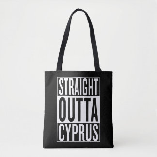straight outta Cyprus Tote Bag
