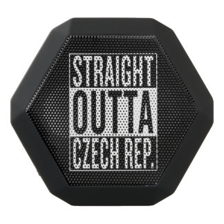 straight outta Czech Republic Black Bluetooth Speaker