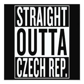 straight outta Czech Republic Card