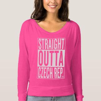 straight outta Czech Republic T-shirt