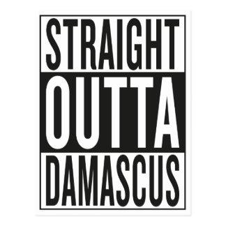 straight outta Damascus Postcard