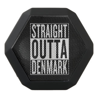 straight outta Denmark Black Bluetooth Speaker