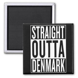 straight outta Denmark Magnet