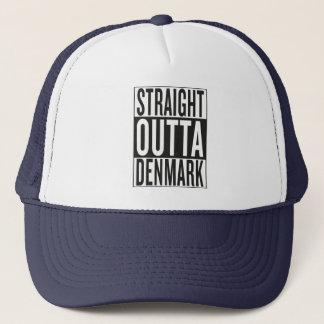 straight outta Denmark Trucker Hat