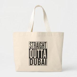 straight outta Dubai Large Tote Bag