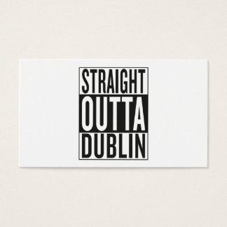 straight outta Dublin Business Card