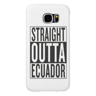 straight outta Ecuador Samsung Galaxy S6 Cases