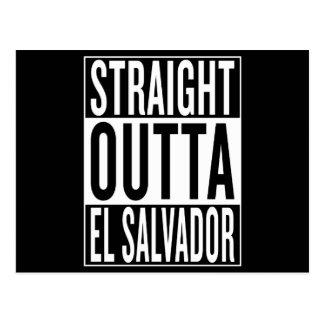 straight outta El Salvador Postcard