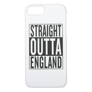 straight outta England iPhone 7 Case