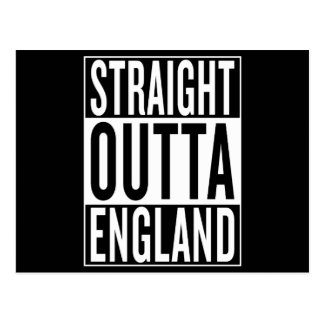 straight outta England Postcard