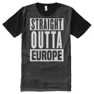Straight Outta Europe - Brexit -- -