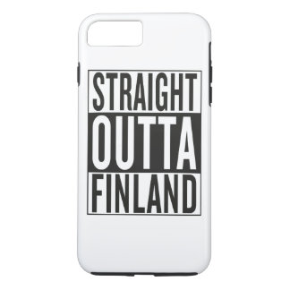 straight outta Finland iPhone 7 Plus Case