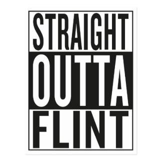 straight outta Flint Postcard