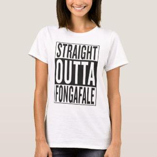 straight outta Fongafale T-Shirt