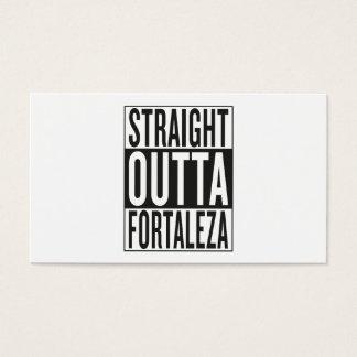 straight outta Fortaleza Business Card