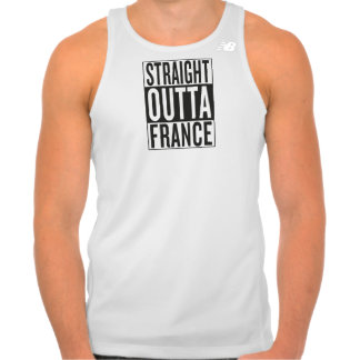 straight outta France Tank Top