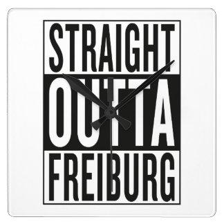 straight outta Freiburg Wall Clock
