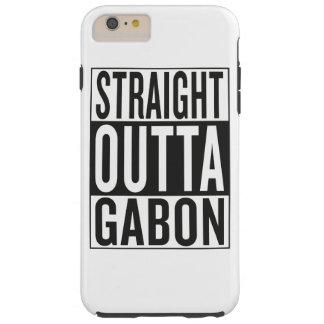 straight outta Gabon Tough iPhone 6 Plus Case
