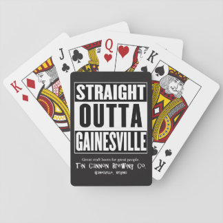 Straight Outta Gainesville Playing Cards