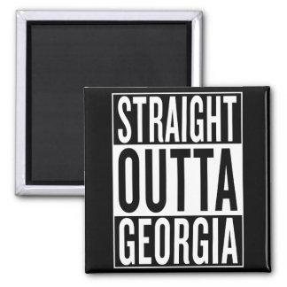 straight outta Georgia Square Magnet
