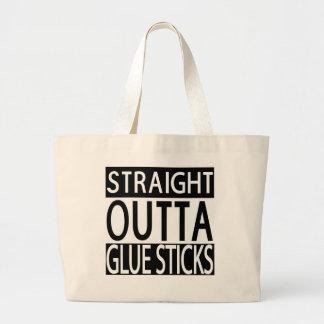 Straight Outta Glue Sticks Teacher Gift Bag Tote