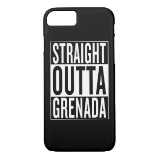 straight outta Grenada iPhone 7 Case