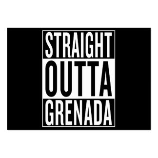 straight outta Grenada Large Business Card