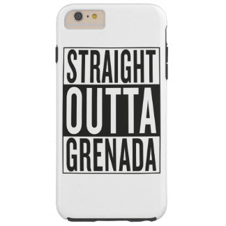straight outta Grenada Tough iPhone 6 Plus Case