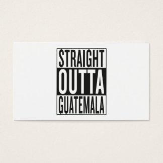straight outta Guatemala Business Card