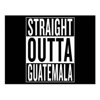 straight outta Guatemala Postcard