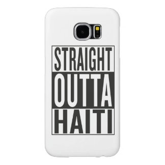 straight outta Haiti Samsung Galaxy S6 Cases
