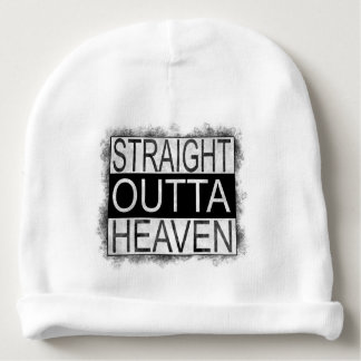 Straight outta HEAVEN Baby Beanie