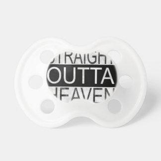 Straight outta HEAVEN Pacifier