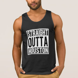 Straight Outta Houston tank top