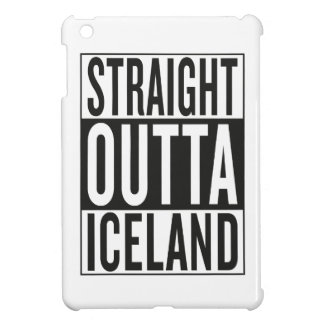 straight outta Iceland Cover For The iPad Mini