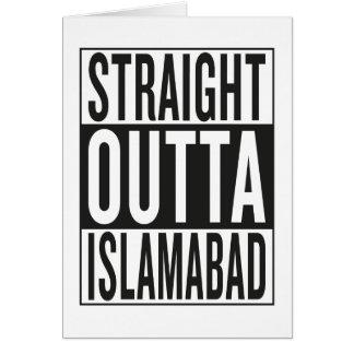 straight outta Islamabad Card