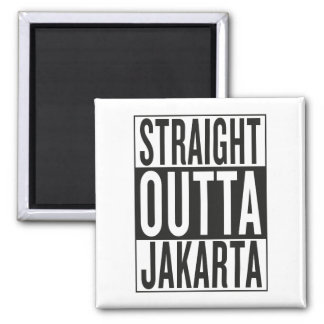 straight outta Jakarta Magnet