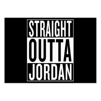 straight outta Jordan Large Business Card