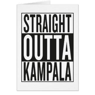 straight outta Kampala Card