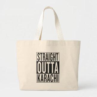 straight outta Karachi Large Tote Bag