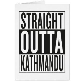 straight outta Kathmandu Card