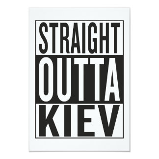 straight outta Kiev Card