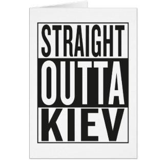 straight outta Kiev Card