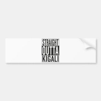 straight outta Kigali Bumper Sticker