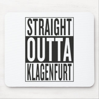 straight outta Klagenfurt Mouse Pad