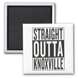straight outta Knoxville Magnet