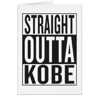 straight outta Kobe Card